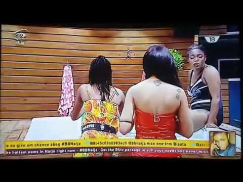 Big Brother Naija Shower Hour With Gifty And Bisola