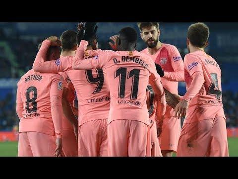 Trực tiếp vòng 37 La Liga: Barcelona vs Getafe - Thời lượng: 2:26:16.