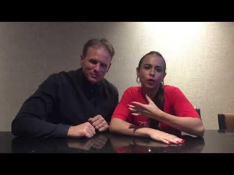 Nutricionista Dani Frederico entrevistando Nutricionista Mark Macdonald