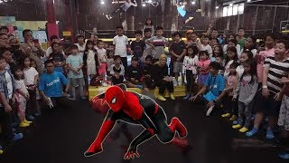 Video SPIDERMAN Kasih Kejutan & Bikin Bahagia Anak2 Di Trampolin Park MP3, 3GP, MP4, WEBM, AVI, FLV Juli 2019