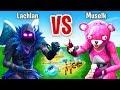 Lachlan VS Muse Rock Paper Scissors CHALLENGE In Fortnite Battle Royale