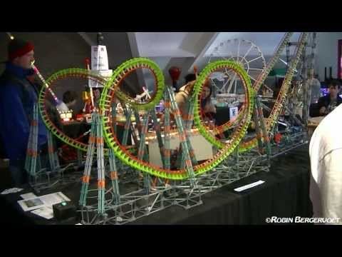 knex rollercoaster automatic vekoma boomerang knex swing ride www