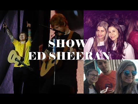 VLOG | Show Ed Sheeran em Curitiba!