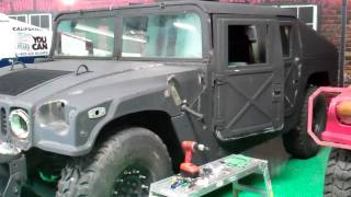 U.S. Army Humvee wraps!(Before images) Gatorwraps.com