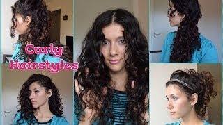 прически на средние волнистые волосы женские