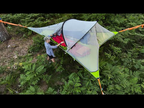 The Most EPIC, Comfortable Tent EVER?! Let's Review The Tentsile Connect Tree Tent, Shall We?