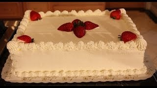 This is part two of the white sheet cake series, where I will go into the decoration steps of the sheet cake. To learn how to make the ...