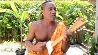 Tahitian song by Patrick Tairua of Bora Bora.