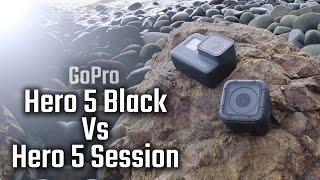 Video GoPro Hero 5 Black vs Hero 5 Session - Hands On Review MP3, 3GP, MP4, WEBM, AVI, FLV September 2018