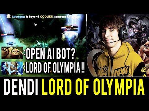 NaVi Dendi Dota 2 [Zeus] Ranked Match - I'm Lord of Olympia !