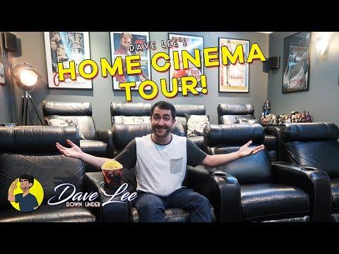 Tour of My Home Theatre / Cinema Room!