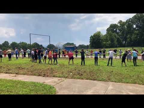 Video: Team building exercise at Innovation Academy Aug. 14, 2018