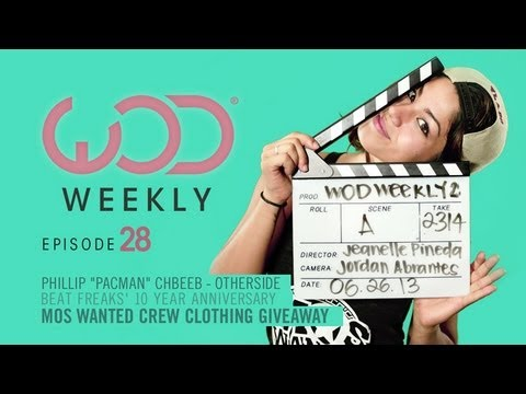 Phillip Pacman Chbeeb | Beat Freaks Carnival | Mos Wanted Giveaway | Culture Shock | #WODWeekly 28