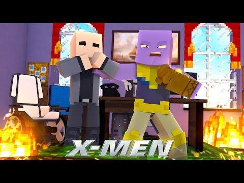 THANOS IS THE NEW X-MEN SCHOOL HEADMASTER!? - (Custom Mod Adventure) (видео)