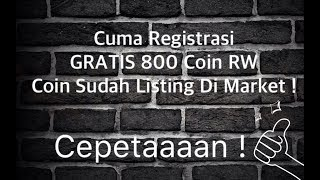 Video GRATIS 800 COIN RW, Sudah Listing Market, Cuma Registrasi ! MP3, 3GP, MP4, WEBM, AVI, FLV September 2018