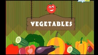 Learn About Vegetables | Easy Learning for Children | Nursery Rhymes | Preschool | Kindergarten