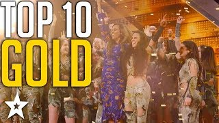 Video Top 10 Unforgettable Golden Buzzers on America's Got Talent | Got Talent Global MP3, 3GP, MP4, WEBM, AVI, FLV Januari 2019