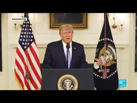 """Trump condamne l'attaque du Capitole et assure vouloir une transition """"sans accrocs"""""""