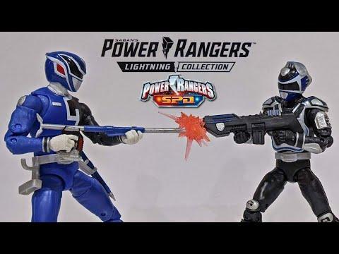 Power Rangers Lightning Collection SPD B Squad Blue Ranger & A Squad SPD Blue Ranger 2 Pack Review