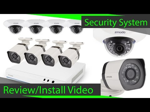 Zmodo 2TB 8 Channel 720p NVR System Review/Setup
