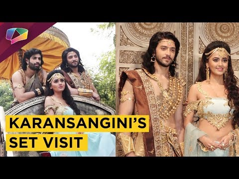Karansangini's Set Visit & Candid Chat With Acto