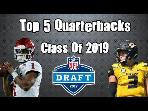 Top 5 Quarterbacks of the 2019 NFL Draft Class! Ranking the QB Prospects feat. MadMen Sports (2019)