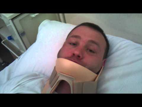 Michał Stróżyk w szpitalu