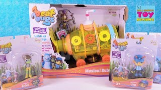 Today we are joined by some of the cutest new figures out.  These are the Beat Bugs.  You can check out the cartoon on Netflix.  It contains some of your favorite music from the Beatles.  Today we are taking a look at the new toys available at Target.  We have the Musical Yellow Submarine & 5 figures of your favorites like Jay, Crick, Kumi & more.  Leave a comment and let us know which character you like the best.**Thanks to Blip Toys for sending these to us for review.  All opinions expressed are our own.******************************************************************************************************Welcome to PSToyReviews where Paul, Shannon & Simon the cat open all kinds of fun toys.  We love blind bags here including Shopkins, Disney, My Little Pony MLP, Tokidoki Moofia, Unicornos, Lego & tons of others.  We also love hidden surprise eggs & mystery toys.  You will find us opening unboxing toys, playsets and all sorts of kids toys including reviews, play & arts & crafts fun.  Don't forget the Play-Doh creations or slime either because it's so much fun.  Leave a comment while you are here, we love hearing from our fans.****************************************************************************************************Subscribe to PSToyReviews here: http://tinyurl.com/qfqtrbr****************************************************************************************************Other Places To Find Ushttps://www.instagram.com/pstoyreviewshttps://twitter.com/pstoyreviewshttps://www.facebook.com/pstoyreviews****************************************************************************************************Check Out Some Of Our Other Videos In PlaylistsShopkins - season 1, 2, 3, 4, Food Fair, Playsets, Shoppies http://bit.ly/1VHfBBRBlind Bag Treehouse Episodes http://bit.ly/1S2HOjQPaul vs Shannon - Who Will Win?  http://bit.ly/1WjUlCGBath Bombs Fizzies http://bit.ly/1qA35INPlay-Doh Surprise Eggs & Challenges http://bit.ly/1Ngw7lyBlind Bags Paloozas http://bit.ly/23rPDVmDisney Fun Including Princesses  http://bit.ly/23kpdbvArts & Crafts (Crayola Coloring, custom DIY Shopkins & more) http://bit.ly/1SWnD7zToy Hunting, Surprise Presents & Hauls http://bit.ly/1RXqJWg****************************************************************************************************Don't forget to like, subscribe and share our channel with your friends.  This way we can keep bringing you even more videos.  :-)****************************************************************************************************We are not accepting fan mail at this time.  Thank you so much to our wonderful fans.  If you have a drawing for us you can share it on our Instagram or Facebook page.****************************************************************************************************Business inquires only  paulandshannonstoyreviews@gmail.com****************************************************************************************************