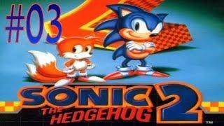 Lets Play Sonic The Hedgehog 2 #3 - Vom Öl In Die Metropolis [DEUTSCH / HD]