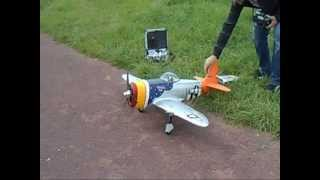AVION RC, P47, YAK 54, CESSNA, FREEMAN 1600 + CRASH