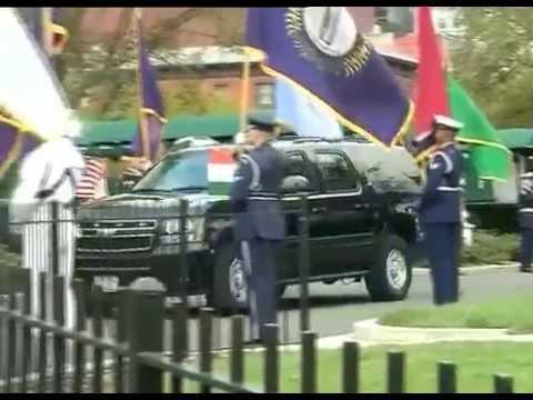 talks - The Prime Minister, Shri Narendra Modi arrives at White House for bilateral talks with the US President, Mr. Barack Obama, at Washington DC on September 30, 2014.