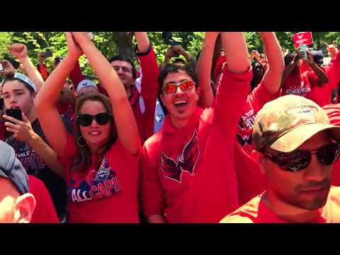 Washington Capitals Championship Parade