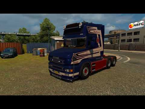 Scania T580 + Interior v1.0 by Caspian Custom Team 1.30.x