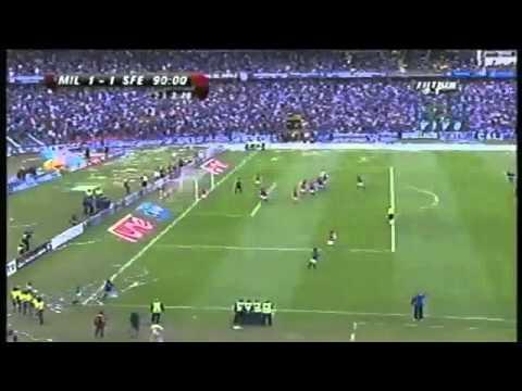 Gol de Rafael Robayo a Santa Fe