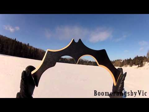 Guy makes some pretty bad ass custom boomerangs