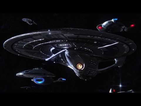 Star Trek Picard [VFX fixed] - Canon Starfleet Arrives!
