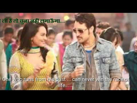 Once upon a time  in Mumbai     Hindi movie  dialogues with  English  subtitles      music and songs