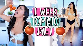 I Tried The EXTREME Tomato Diet For A Week by MissRemiAshten