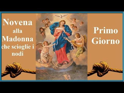 invocazione alla vergine maria e ogni problema si dissolverà
