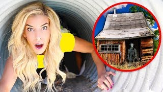 We FOUND the GAME MASTER'S House! New Evidence Exploring SECRET Hidden Underground Tunnel!