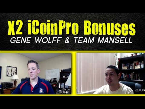 iCoin Pro Review - Scam? Get x2 The Bonuses With Gene Wolff - How To Make Money Online With Bitcoin