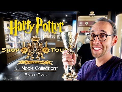 HARRY POTTER | THE NOBLE COLLECTION SHOP TOUR IN LONDON (PART TWO)