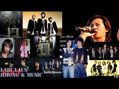 เพลงม้งร็อคมันๆ 10 เพลง วง Laib Laus - Hmong @ Music
