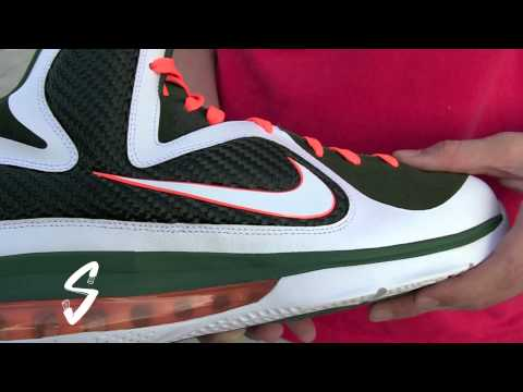 0 Nike LeBron 9   Miami Hurricanes PE | New Images