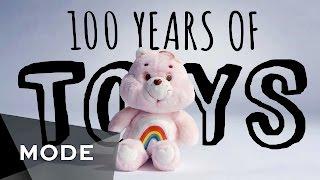 100 ans de jouets résumés en 3 minutes de vidéo