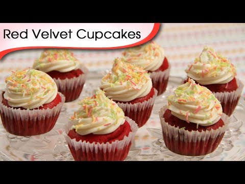 Red Velvet Cupcakes – Easy To Make Homemade Cupcake Recipe By Ruchi Bharani