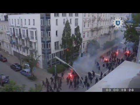 G20-Gipfel: Ermittler stellen Fotos und Videos von mutmaßlichen Gewalttätern ins Netz