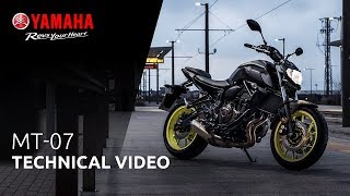 10. 2018 Yamaha MT-07 | Technical video