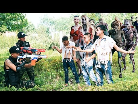 Video Superhero Action Movies couple S.W.A.T Nerf guns Zombie & Monster Nerf war download in MP3, 3GP, MP4, WEBM, AVI, FLV January 2017