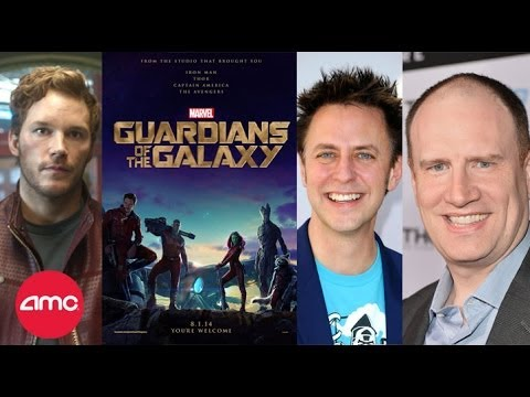 *LIVE* - AMC Movie News presents a live streaming interview and Q&A with GUARDIANS OF THE GALAXY star Chris Pratt, Director James Gunn and Marvel President Kevin Feig...